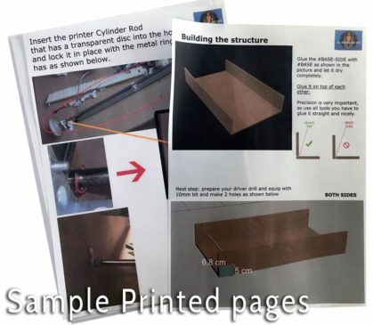 diy dtg printed pages