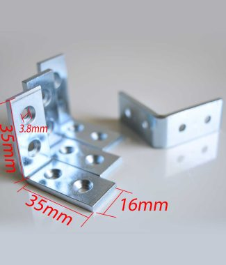 Metal L Bracket 35mm x 16mm (Pack of 4)