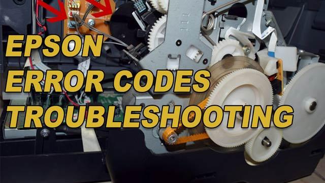 Epson Error Code