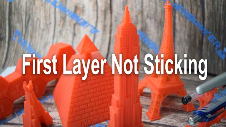 3D Printing First Layer Problems – How To Fix Them