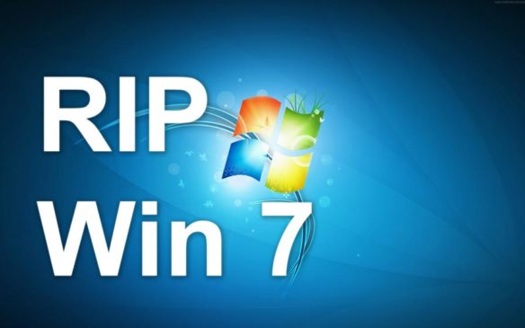 Windows 7 Is No Longer Supported