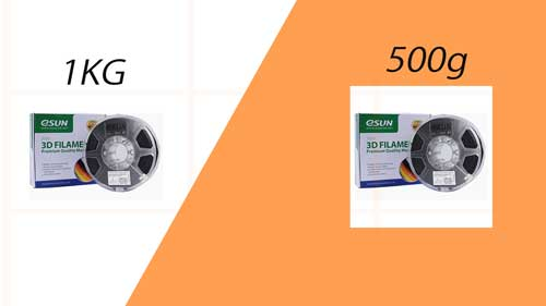 3d printer filament 500g